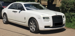 Rolls Royce Ghost Wedding 2