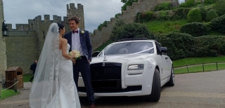 Rolls Royce Ghost Wedding 3