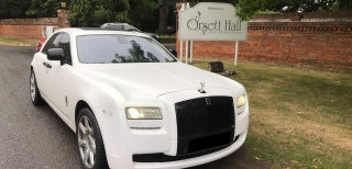 Rolls Royce Ghost Wedding 6