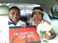 Bentley Interior Wedding