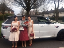 Range Rover Sport Wedding 1