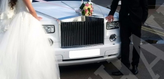 Rolls Royce Phantom Wedding 8