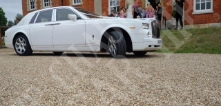Rolls Royce Phantom Wedding 9