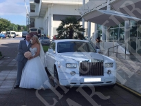 Rolls Royce Phantom Wedding 2