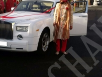 Rolls Royce Phantom Wedding 4