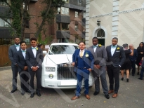 Rolls Royce Phantom Wedding 5
